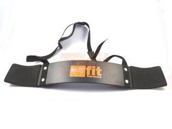 Arm Blaster en aluminium avec mousse de confort, accessoire de musculation