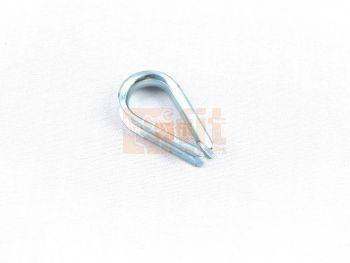 Cosse-coeur pour câble de 4,5 mm