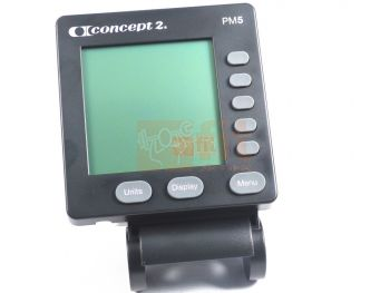 Console PM5  pour rameur Concept2 modèle D1, D2 et E