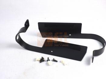 Paire de protections en acier de rouleau arrière, droit et gauche pour tapis Lifefitness
