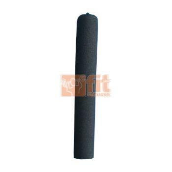 Manchon fermé en caoutchouc de 18 cm pour barre de 32 mm