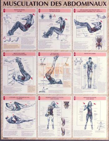 exercices pour la musculation des abdominaux