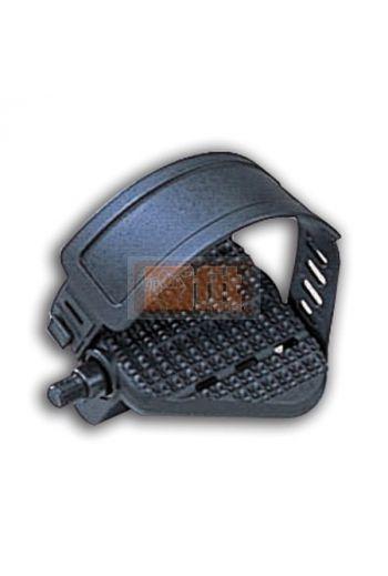 Pédales noire avec strap P786RL